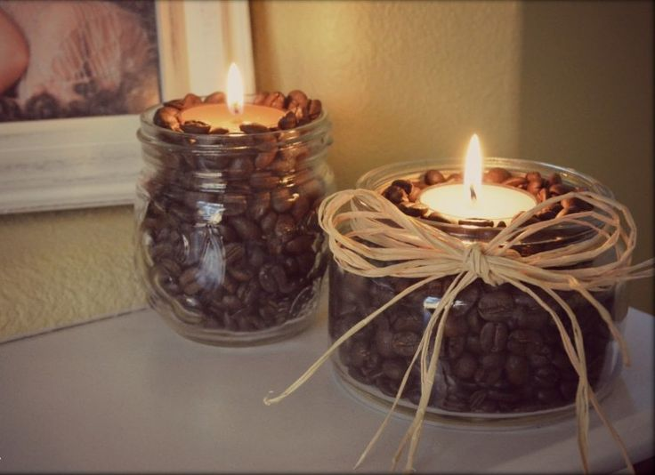 Unique coffee bean candle ideas on pinterest
