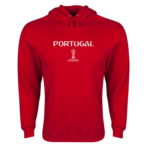 Portugal FIFA Confederations Cup 2017 Hoody (Red)