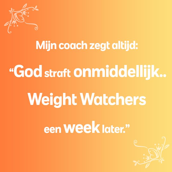 30 kilo afvallen met weight watchers