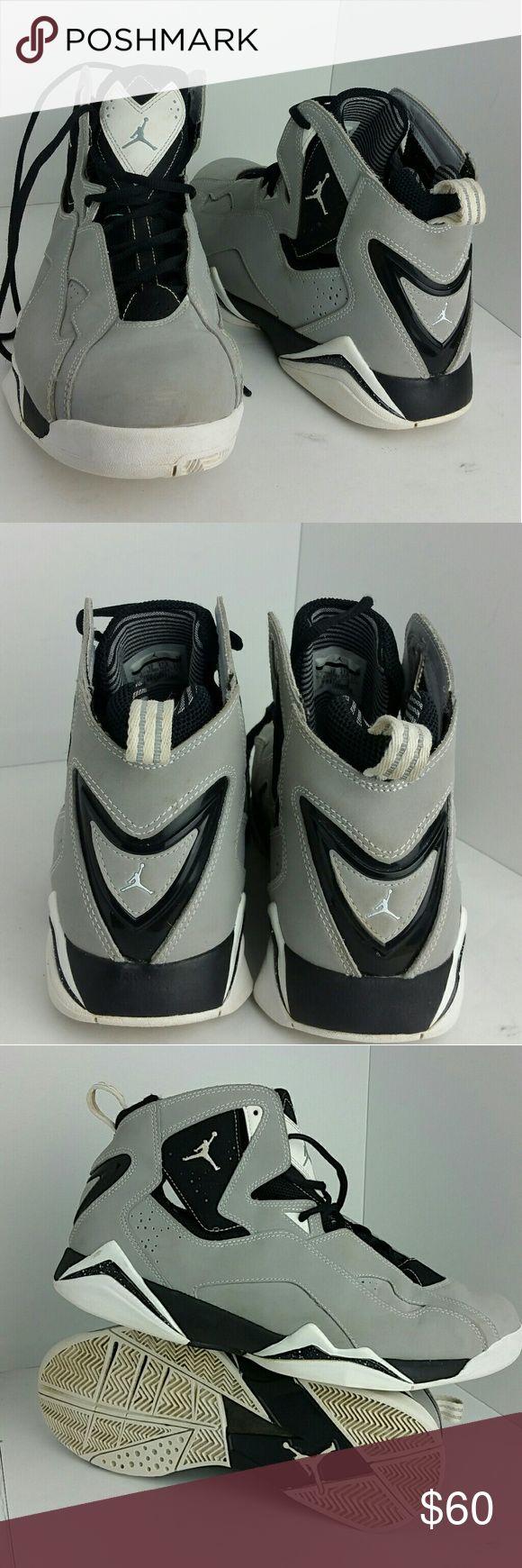 AIR JORDAN TRUE FLIGHT WOLF GREY MEN'S SHOES VERY CLEAN INSIDE-OUT   SKE # PM Air Jordan Shoes Athletic Shoes