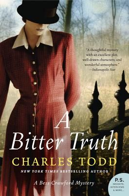 A Bitter Truth by Charles Todd - WWI-era historical fiction: Worth Reading, Bess Crawford, Charles Todd, Books Worth, Mystery Bess, Bitterness Truths, Crawford Series, Crawford Mystery, Books Review