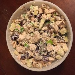 Chicken Salad with Apples, Grapes, and Walnuts - Allrecipes.com