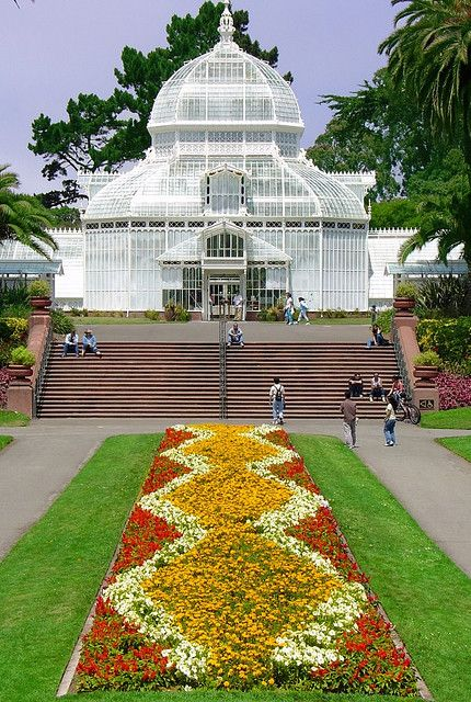 Flower Conservatory, Golden Gate State Park, San Francisco, California by satosphere