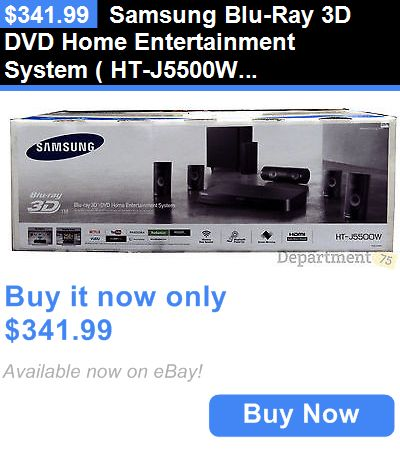 Home Theater Systems: Samsung Blu-Ray 3D Dvd Home Entertainment System ( Ht-J5500w) BUY IT NOW ONLY: $341.99