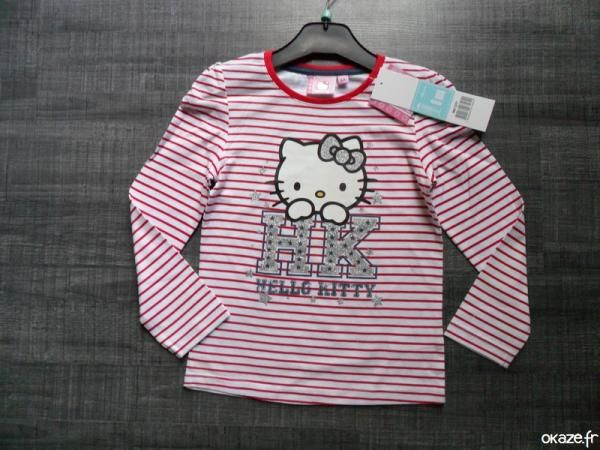 Sweat Hello kitty rouge NEUF