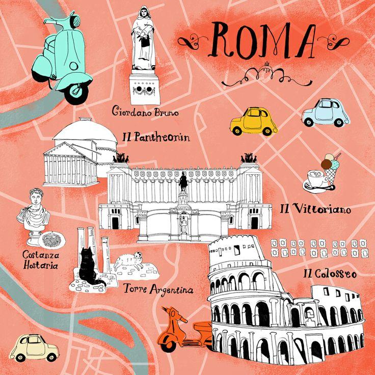 Risultati immagini per roma map my