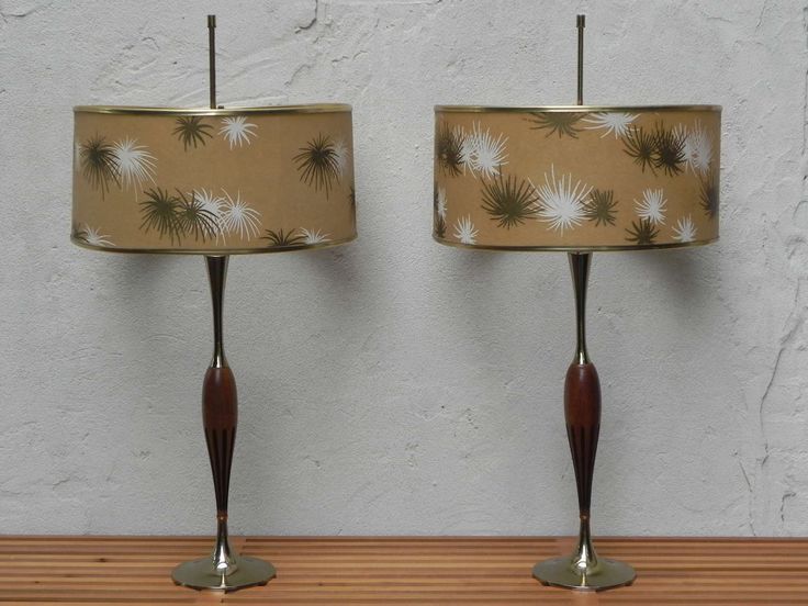 Mid Century Lamp Shades Cool 467 Best Mid Century Lamp Shades Images On Pinterest  Vintage Lamps Design Decoration