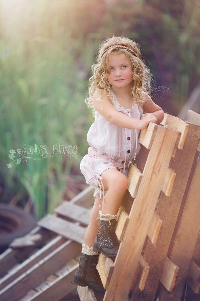 Beautiful portrait of a beautiful little girl.