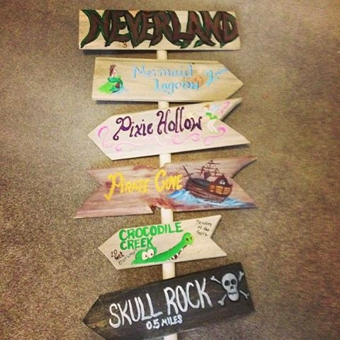 Handmade for my Peter Pan Neverland Nursery. I love how it turned out!!!
