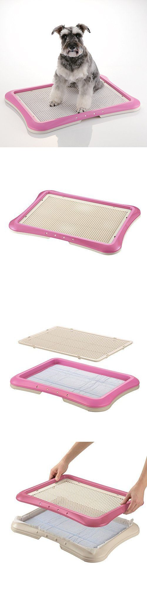 Other Dog Supplies 11286: Dog Training Pad Holder Paw Trax Mesh Puppy Potty Tray Absorbent Doggy Pet Pink BUY IT NOW ONLY: $43.42
