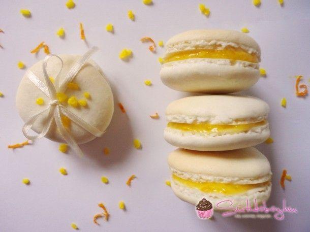 Meyer citromos macaron