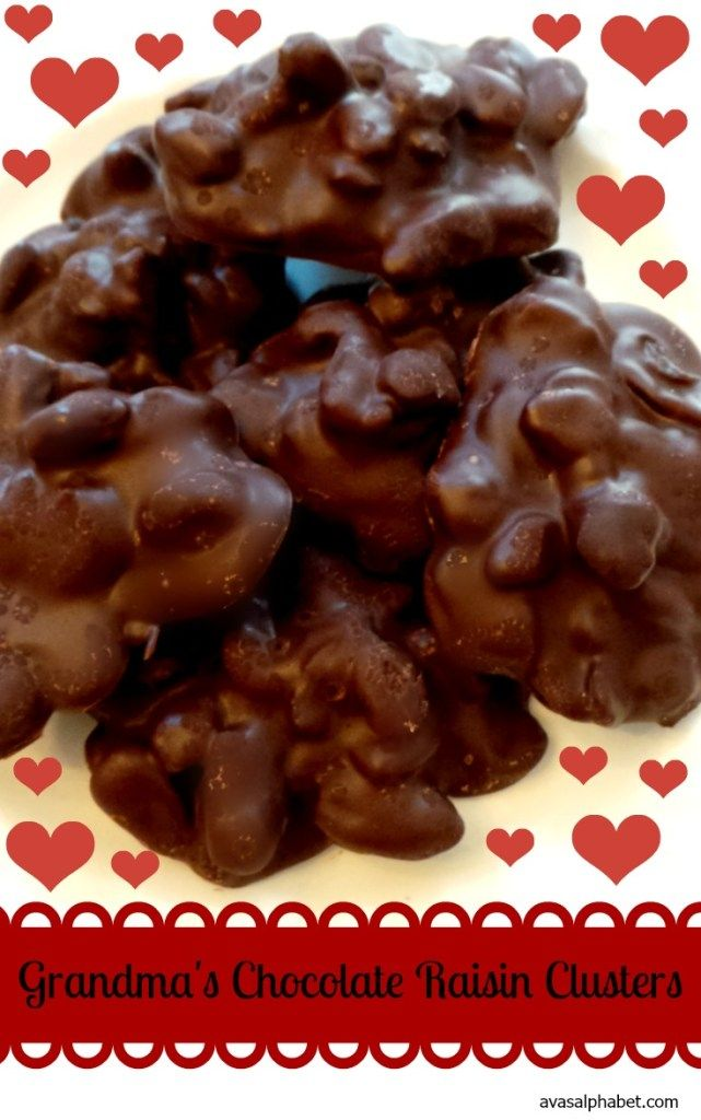 This simple recipe does not disappoint! Rich, decadent chocolate and sweet, chewy raisins are the perfect combination. I could eat these every day! Yum!