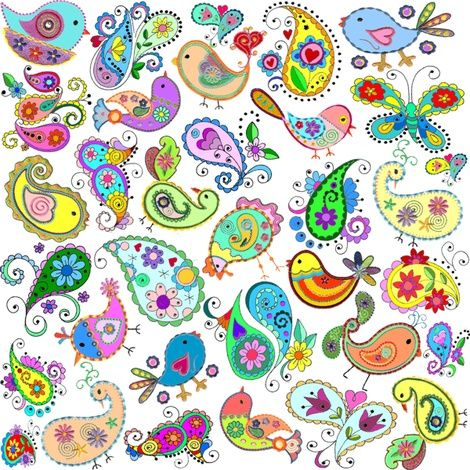 Paisley Birds by Spoonflower (470×470)