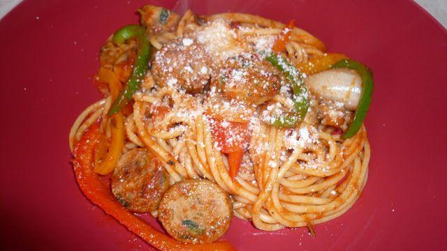 Mi Cocina Rápida: Spaghetti con Salchicha Italiana