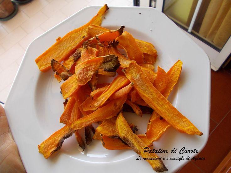 Patatine di carote