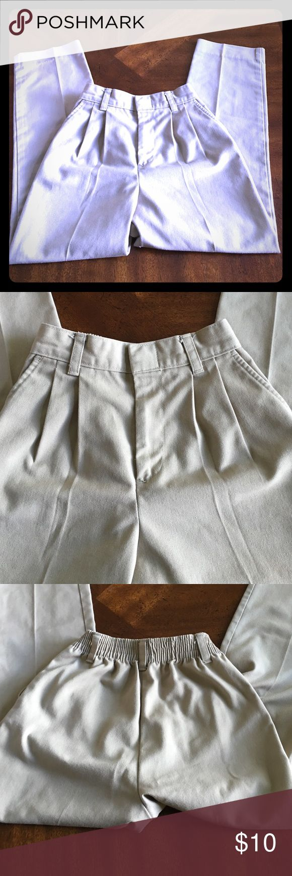 Uniform pants for school Uniform pants for school. Khaki color. Excellent condition. Comes from a 🚫🐶🐱 and 🚭 home. Will 📬 next day. Bundle and save money Bottoms