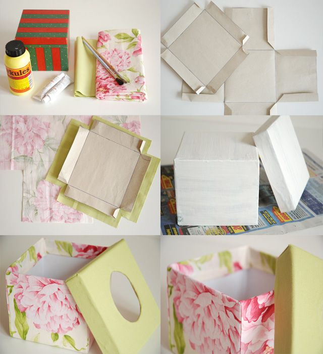 Boulevard de Prague: DIY tissues box