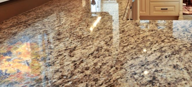 How To Repair Granite Countertop Chips Granite Granite Countertops Countertops