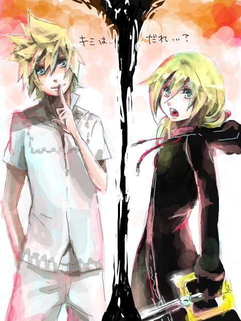 Kingdom Hearts Namine And Kairi Anime 460 best images...