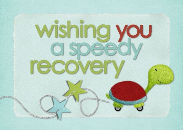 hm speedy recovery designed by roxanne buchholz 7x5 invitation template id 68045 my templates all pinterest get well templates and get well soon