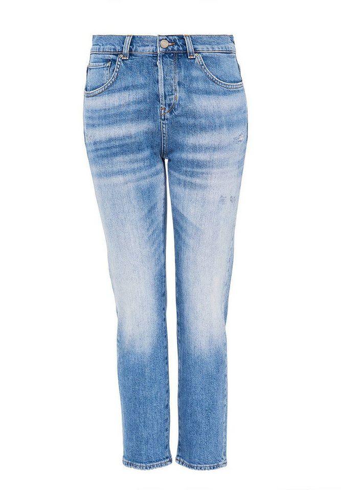 heiß-verkauf freiheit Farben und auffällig marktfähig HALLHUBER Bootcut-Jeans SINA aus Candiani Denim ...