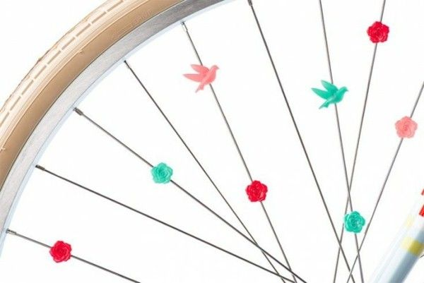 Beads Spoke Bicycle Accessories kids bike accessories