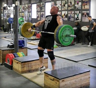 A sample program with complete workouts for a masters olympic weightlifting and masters weightlifters