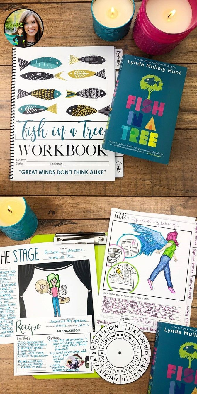Fish In A Tree Workbook Novel Study For Fish In A Tree Digital Included Fish In A Tree Novel Studies Teaching Empathy [ 1344 x 672 Pixel ]