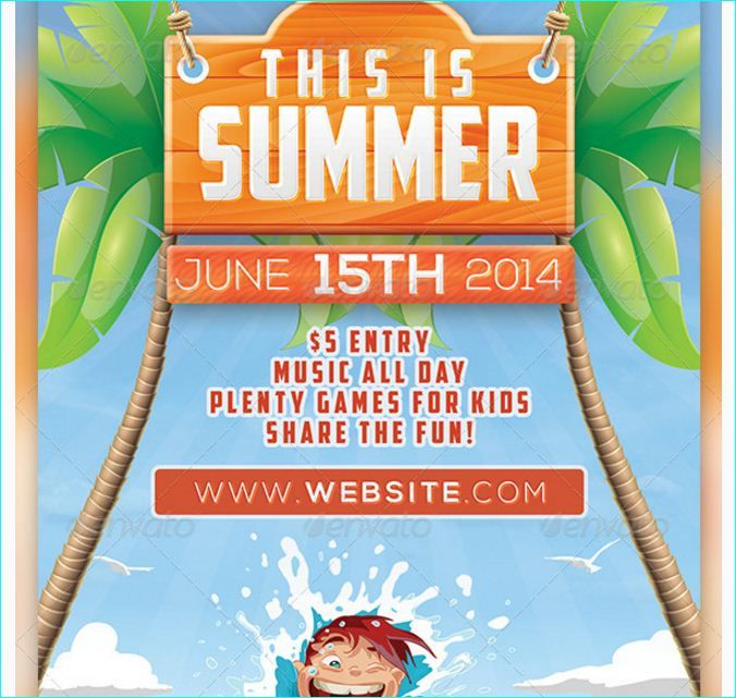 25 best Summer Games Flyer Templates images on Pinterest - fun poster templates