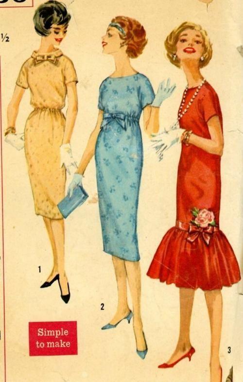 Vintage patterns.  Simplicity 2736
