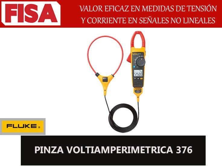 PINZA VOLTIAMPERIMETRICA 376 -Valor eficaz en medidas de tensión- FERRETERIA INDUSTRIAL -FISA S.A.S Carrera 25 # 17 - 64 Teléfono: 201 05 55 www.fisa.com.co/ Twitter:@FISA_Colombia Facebook: Ferreteria Industrial FISA Colombia