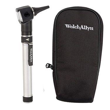 Welch Allyn Otoscope with AA Battery Handle & Soft Case | allheart.com