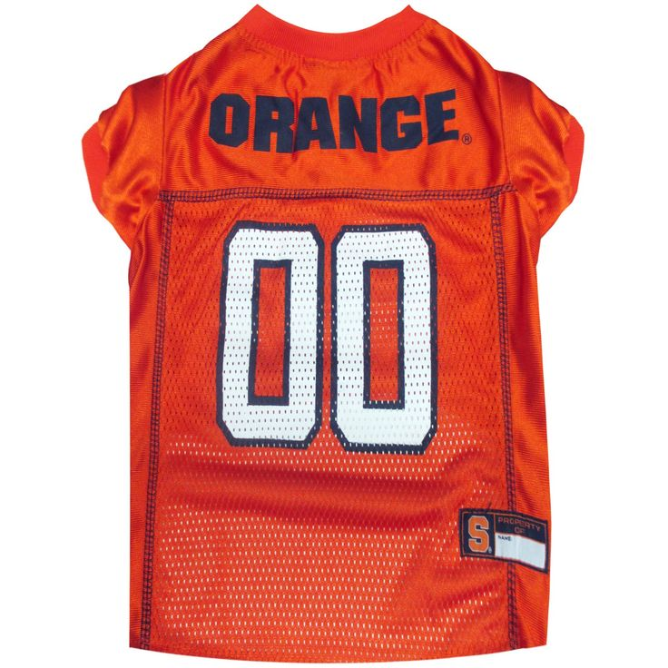 NCAA Pets First Syracuse Orange Mesh Jersey - L