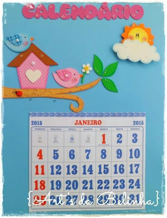 Calendario pajarito: