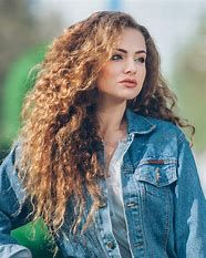 Image Result For Long Layered Curly Hair