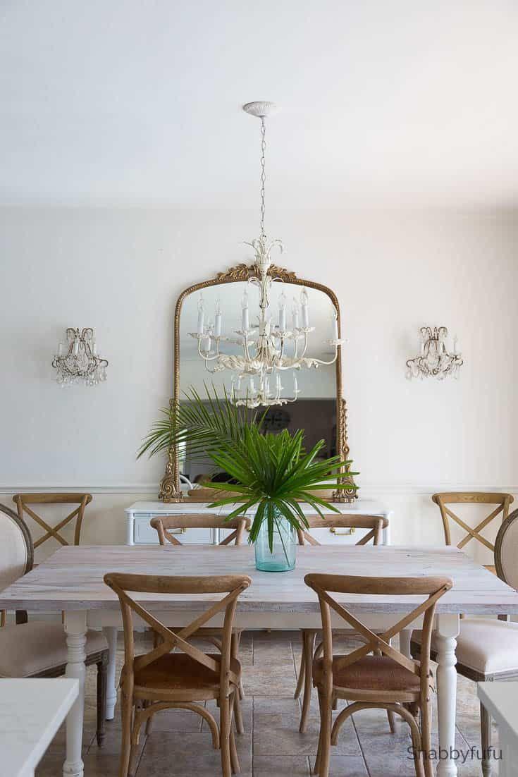 Modern Coastal Design Dining Room Update Dining Room Updates Home Decor Mirror Dining Room
