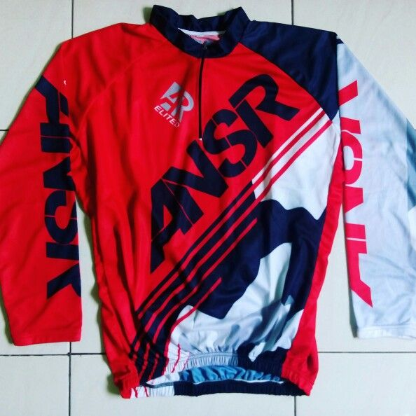 Jersey sepeda polyester