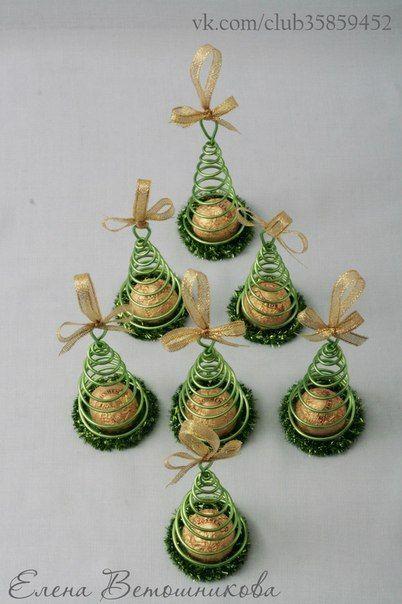 Christmas tree candy toys – Búsqueda de Google – Navidad – #Google …   – easy little giveaways / einfache kleine Mitbringsel oder Weggebsel