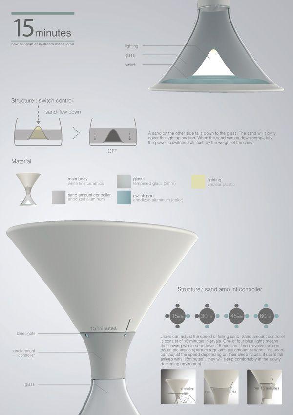 砂時計みたいな照明『15分ランプ』がスゴイ! 砂がすべて落ちると電気が消えて画期的!! | Pouch[ポーチ]