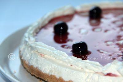 Le semplici ricette di Nonna Papera: CHEESE-CAKE ALLE AMARENE