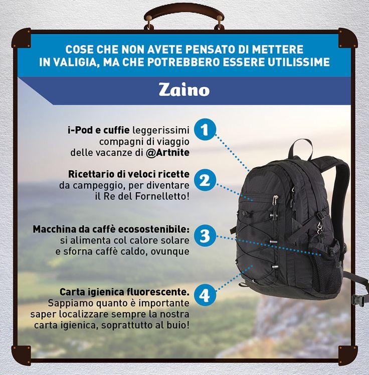 #Campeggio Sì ma hi-tech! Quali sono i vostri consigli per lo #zaino perfetto per una #vacanza immersi tra natura e tecnologia?