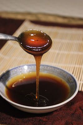 MAGIC SAUCE: flavour for stir fry!  Ingredients: 1/2 cup Golden syrup, 1/4 cup gin, 1/4 cup syrup reserved from tinned pears, 1 1/2 tsp salt, 2 tsp carob syrup, 1 tsp tapioca starch.
