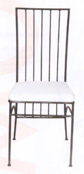 Chaise en fer forgé MODERN