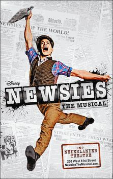 Newsies the Musical Broadway Poster . . . for my room