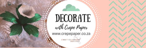 We're promoting our brand of crepe paper flowers! Follow us for some inspiration!