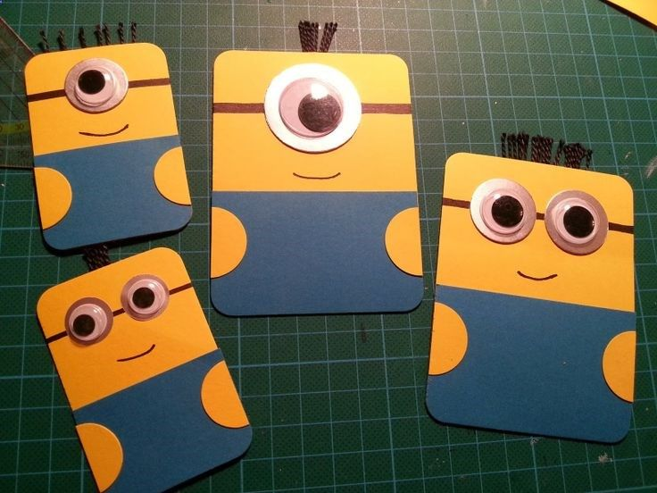 Minion Project Life cards :-)