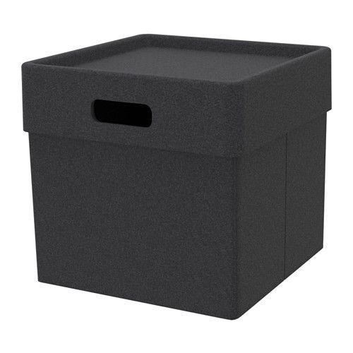 eket box dunkelgrau gegenst nde ikea und kasse. Black Bedroom Furniture Sets. Home Design Ideas