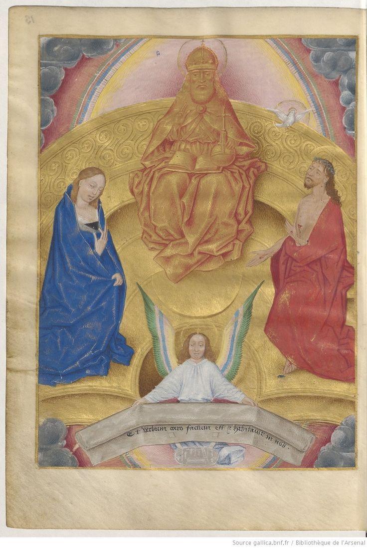 Livre d'heures, en latin et en français, à l'usage de Cambray -- 1401-1500 -- manuscrits