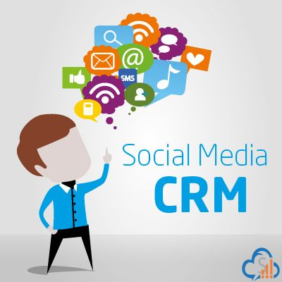 Integrate your #socialmedia with #CRM Software to better engagement insights & reporting on social activity