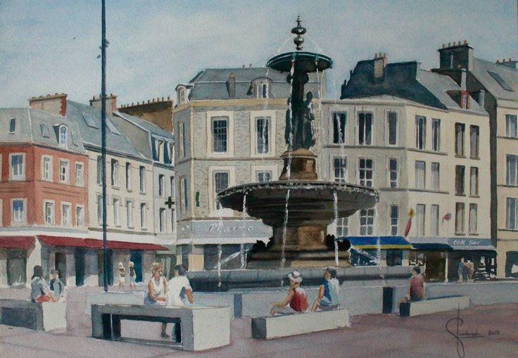 Cees Sombroek - Cherbourg Frankrijk